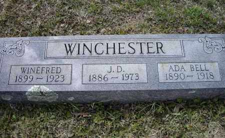 "WINCHESTER, JOHN DALLAS ""J. D."" - Lawrence County, Arkansas 