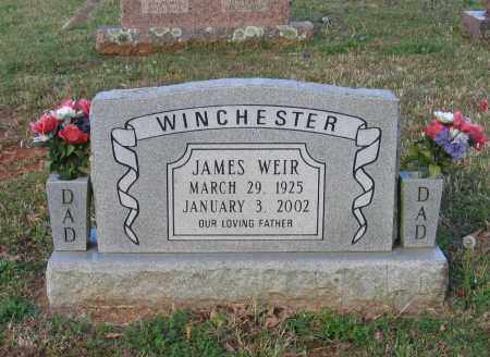 WINCHESTER, JAMES WEIR - Lawrence County, Arkansas | JAMES WEIR WINCHESTER - Arkansas Gravestone Photos