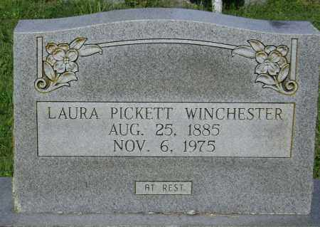 WINCHESTER, LAURA MADISON PICKETT - Lawrence County, Arkansas | LAURA MADISON PICKETT WINCHESTER - Arkansas Gravestone Photos