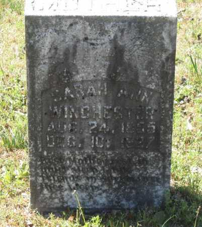 WINCHESTER, SARAH ANN CATHERINE - Lawrence County, Arkansas | SARAH ANN CATHERINE WINCHESTER - Arkansas Gravestone Photos