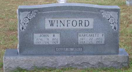 WINFORD, MARGARETT P. - Lawrence County, Arkansas | MARGARETT P. WINFORD - Arkansas Gravestone Photos