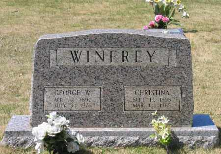 WINFREY, CHRISTINA - Lawrence County, Arkansas | CHRISTINA WINFREY - Arkansas Gravestone Photos