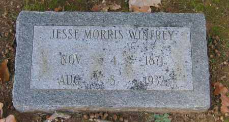 WINFREY, JESSE MORRIS - Lawrence County, Arkansas | JESSE MORRIS WINFREY - Arkansas Gravestone Photos