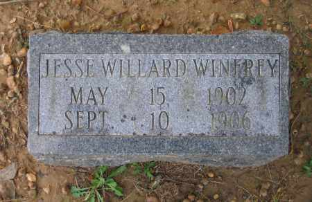 WINFREY, JESSE WILLARD - Lawrence County, Arkansas | JESSE WILLARD WINFREY - Arkansas Gravestone Photos