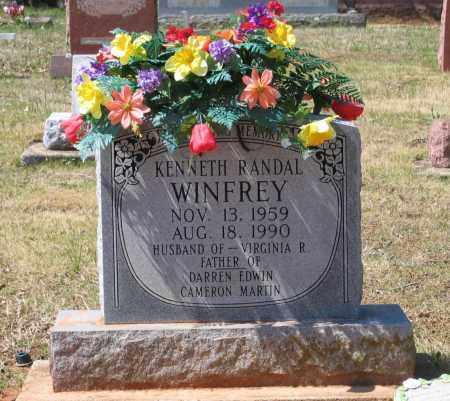 WINFREY, KENNETH RANDAL - Lawrence County, Arkansas | KENNETH RANDAL WINFREY - Arkansas Gravestone Photos