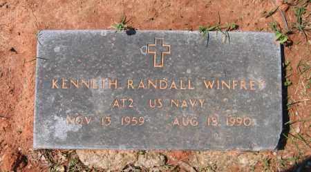 WINFREY (VETERAN), KENNETH RANDAL - Lawrence County, Arkansas | KENNETH RANDAL WINFREY (VETERAN) - Arkansas Gravestone Photos
