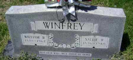 WINFREY, WILLIAM REDY - Lawrence County, Arkansas | WILLIAM REDY WINFREY - Arkansas Gravestone Photos
