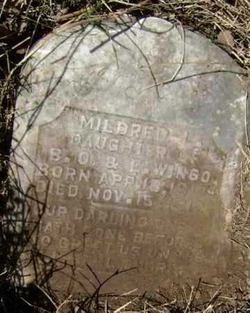 WINGO, MILDRED L. - Lawrence County, Arkansas | MILDRED L. WINGO - Arkansas Gravestone Photos