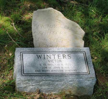 WINTERS, VICTOR LEE - Lawrence County, Arkansas | VICTOR LEE WINTERS - Arkansas Gravestone Photos
