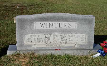 RUDY WINTERS, SENA S. - Lawrence County, Arkansas | SENA S. RUDY WINTERS - Arkansas Gravestone Photos
