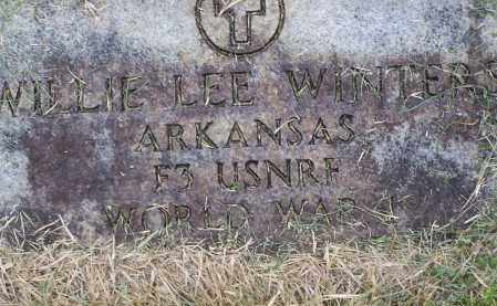 WINTERS (VETERAN WWI), WILLIE LEE - Lawrence County, Arkansas | WILLIE LEE WINTERS (VETERAN WWI) - Arkansas Gravestone Photos