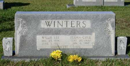 WINTERS, FLORA F. - Lawrence County, Arkansas | FLORA F. WINTERS - Arkansas Gravestone Photos
