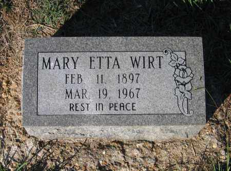 WIRT, MARY ETTA - Lawrence County, Arkansas | MARY ETTA WIRT - Arkansas Gravestone Photos