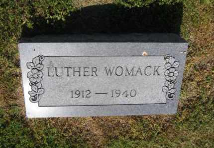WOMACK, LUTHER - Lawrence County, Arkansas | LUTHER WOMACK - Arkansas Gravestone Photos