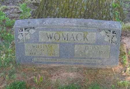 WOMACK, WILLIAM - Lawrence County, Arkansas | WILLIAM WOMACK - Arkansas Gravestone Photos