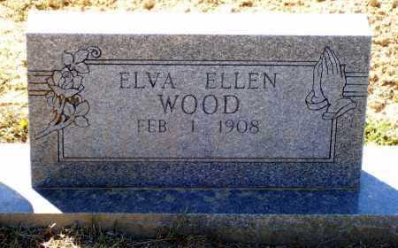 WOOD, ELVA ELLEN - Lawrence County, Arkansas | ELVA ELLEN WOOD - Arkansas Gravestone Photos