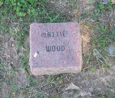 WOOD, MATTIE - Lawrence County, Arkansas | MATTIE WOOD - Arkansas Gravestone Photos