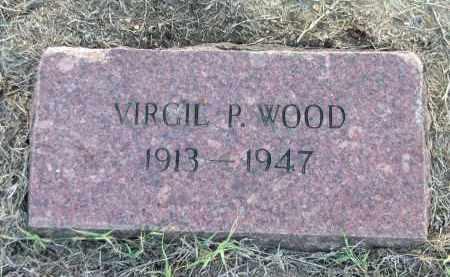 WOOD, VIRGIL P - Lawrence County, Arkansas | VIRGIL P WOOD - Arkansas Gravestone Photos
