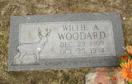 WOODARD, WILLIE A. - Lawrence County, Arkansas | WILLIE A. WOODARD - Arkansas Gravestone Photos