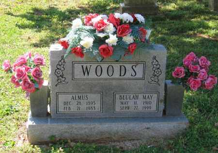 WOODS, ALMUS - Lawrence County, Arkansas | ALMUS WOODS - Arkansas Gravestone Photos