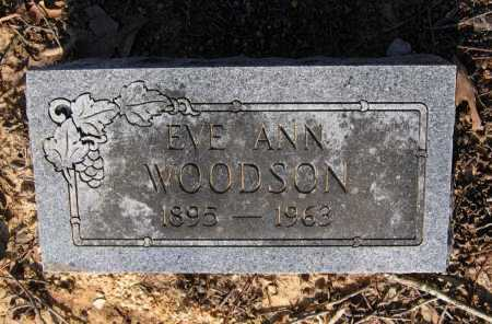WOODSON, EVE ANN - Lawrence County, Arkansas | EVE ANN WOODSON - Arkansas Gravestone Photos