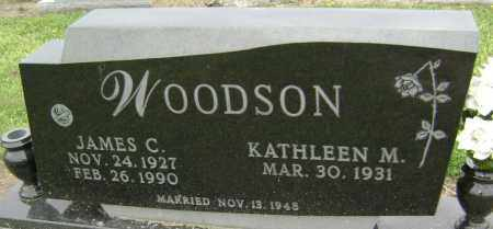 WOODSON, JAMES CARROLL - Lawrence County, Arkansas | JAMES CARROLL WOODSON - Arkansas Gravestone Photos
