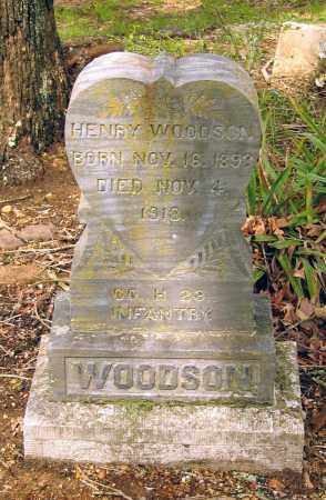 WOODSON (VETERAN WWI, KIA), WILLIAM HENRY - Lawrence County, Arkansas | WILLIAM HENRY WOODSON (VETERAN WWI, KIA) - Arkansas Gravestone Photos