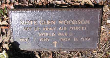 "WOODSON (VETERAN WWII), GLENN MORTEN ""MOTE"" - Lawrence County, Arkansas 