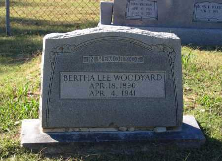 FIELD WOODYARD, BERTHA LEE - Lawrence County, Arkansas | BERTHA LEE FIELD WOODYARD - Arkansas Gravestone Photos