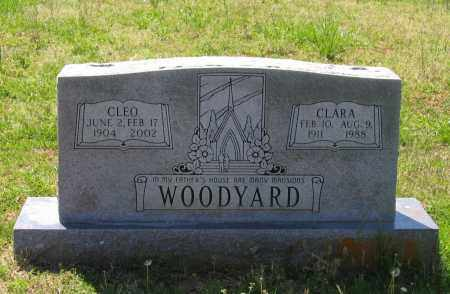 WRIGHT WOODYARD, CLARA ELIZABETH - Lawrence County, Arkansas | CLARA ELIZABETH WRIGHT WOODYARD - Arkansas Gravestone Photos