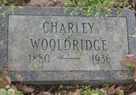 WOOLDRIDGE, CHARLEY - Lawrence County, Arkansas | CHARLEY WOOLDRIDGE - Arkansas Gravestone Photos
