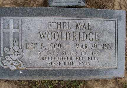WOOLDRIDGE, ETHEL MAE - Lawrence County, Arkansas | ETHEL MAE WOOLDRIDGE - Arkansas Gravestone Photos