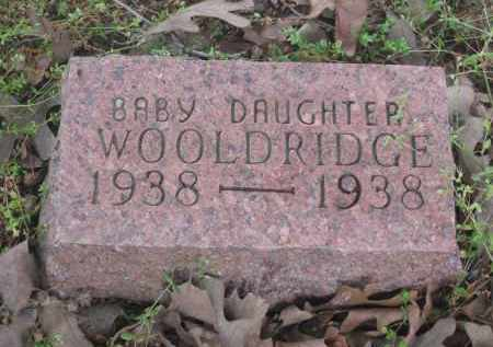WOOLDRIDGE, INFANT DAUGHTER - Lawrence County, Arkansas | INFANT DAUGHTER WOOLDRIDGE - Arkansas Gravestone Photos