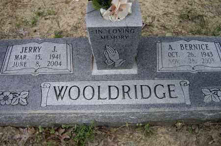 WOOLDRIDGE, JERRY J. - Lawrence County, Arkansas | JERRY J. WOOLDRIDGE - Arkansas Gravestone Photos