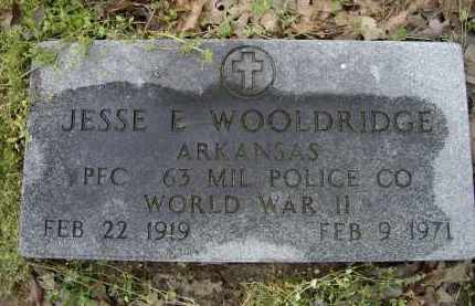 WOOLDRIDGE (VETERAN WWII), JESSE E. - Lawrence County, Arkansas | JESSE E. WOOLDRIDGE (VETERAN WWII) - Arkansas Gravestone Photos
