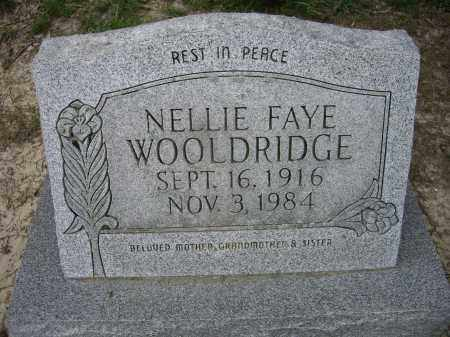 WOOLDRIDGE, NELLIE FAYE - Lawrence County, Arkansas | NELLIE FAYE WOOLDRIDGE - Arkansas Gravestone Photos