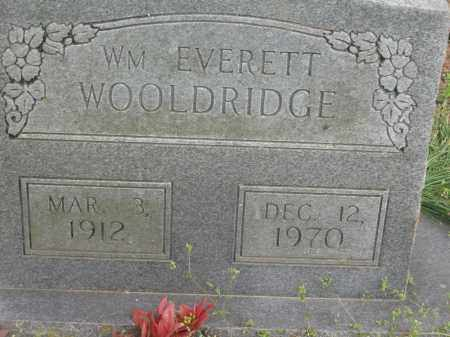WOOLDRIDGE, WILLIAM EVERETT - Lawrence County, Arkansas | WILLIAM EVERETT WOOLDRIDGE - Arkansas Gravestone Photos