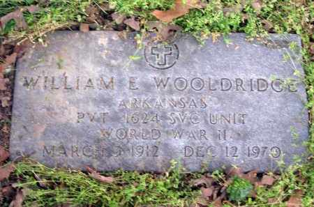 WOOLDRIDGE (VETERAN WWII), WILLIAM EVERETT - Lawrence County, Arkansas | WILLIAM EVERETT WOOLDRIDGE (VETERAN WWII) - Arkansas Gravestone Photos