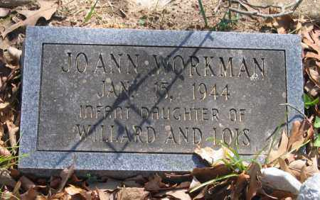 WORKMAN, JO ANN - Lawrence County, Arkansas | JO ANN WORKMAN - Arkansas Gravestone Photos