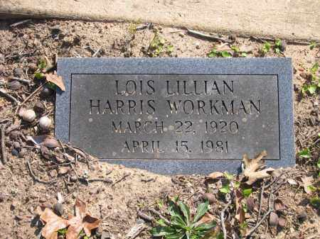 WORKMAN, LOIS LILLIAN - Lawrence County, Arkansas | LOIS LILLIAN WORKMAN - Arkansas Gravestone Photos