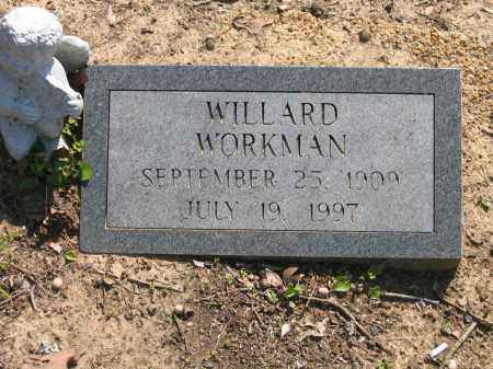 WORKMAN, WILLARD CLAYTON - Lawrence County, Arkansas | WILLARD CLAYTON WORKMAN - Arkansas Gravestone Photos