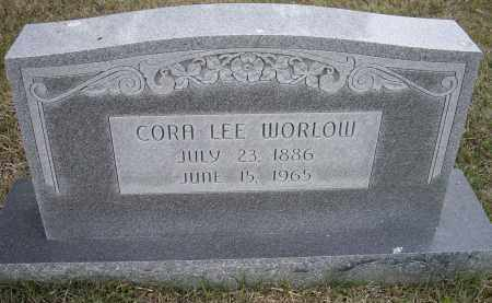 WORLOW, CORA LEE - Lawrence County, Arkansas | CORA LEE WORLOW - Arkansas Gravestone Photos