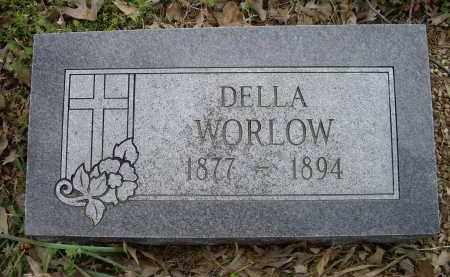 WORLOW, DELLA - Lawrence County, Arkansas | DELLA WORLOW - Arkansas Gravestone Photos
