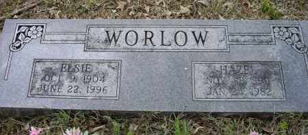 WORLOW, ELSIE - Lawrence County, Arkansas | ELSIE WORLOW - Arkansas Gravestone Photos