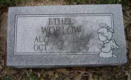 WORLOW, ETHEL - Lawrence County, Arkansas | ETHEL WORLOW - Arkansas Gravestone Photos