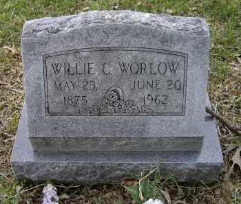 WOODWARD HARRISON, WILLIE CATHERINE - Lawrence County, Arkansas | WILLIE CATHERINE WOODWARD HARRISON - Arkansas Gravestone Photos