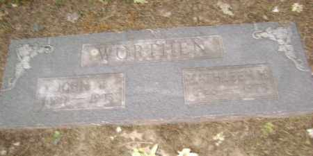 WORTHEN, KATHLEEN H. - Lawrence County, Arkansas | KATHLEEN H. WORTHEN - Arkansas Gravestone Photos