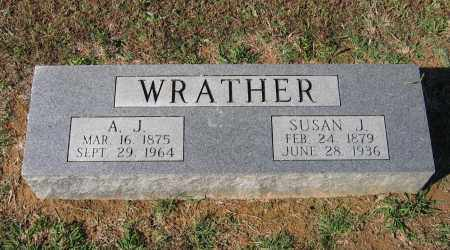 WRATHER, SUSAN JANE - Lawrence County, Arkansas | SUSAN JANE WRATHER - Arkansas Gravestone Photos
