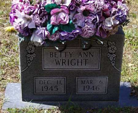 WRIGHT, BETTY ANN - Lawrence County, Arkansas | BETTY ANN WRIGHT - Arkansas Gravestone Photos