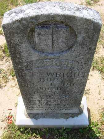 "WRIGHT, JR., BENJAMIN FRANKLIN ""B. F,"" - Lawrence County, Arkansas | BENJAMIN FRANKLIN ""B. F,"" WRIGHT, JR. - Arkansas Gravestone Photos"